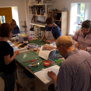 Introduction to fused glass workshop 10 June 2017