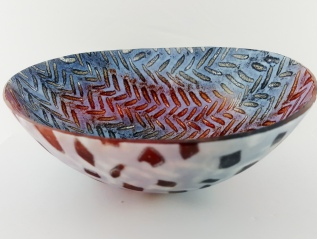 Herringbone Rocking Bowl